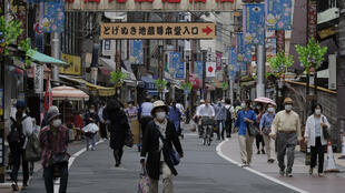 The virus has hit Japanese consumption