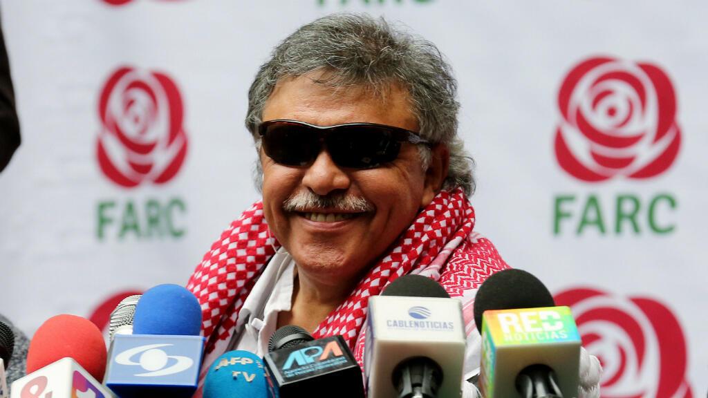 """El exguerrillero y dirigente del partido político FARC, alias """"Jesús Santrich"""", designado como miembro de la Cámara de Representantes a partir del próximo 20 de julio, fue detenido este lunes 9 de abril de 2018, en Bogotá, confirmó la Fiscalía sin detallar el motivo."""