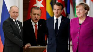 Los cuatro mandatarios se reunirán el 27 de octubre en Estambul, Turquía.