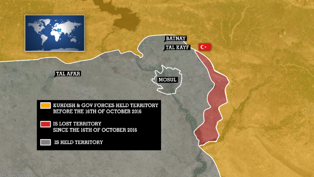 A TWO-FRONT WAR FOR THE ISLAMIC STATE GROUP