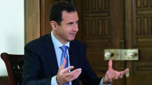 Le président syrien a