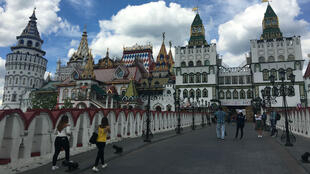 Izmaïlovo, quartier emblématique de l'est de Moscou.