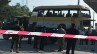 L'un des trois attentats a frappé un minibus reliant Kaboul à Jalalabad, le lundi 20 juin.