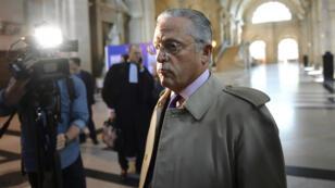 Le marchand d'art franco-américain Guy Wildenstein, accusé de fraude fiscale, arrive au palais de justice de Paris. de Paris le 22 septembre 2016.