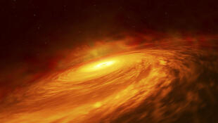Up to now, black holes with mass 100 to 1,000 times that of our Sun have never been found