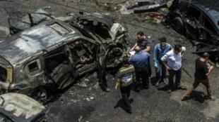 هجوم أودى بحياة النائب العام المصري هشام بركات، القاهرة 29 يونيو/حزيران 2015