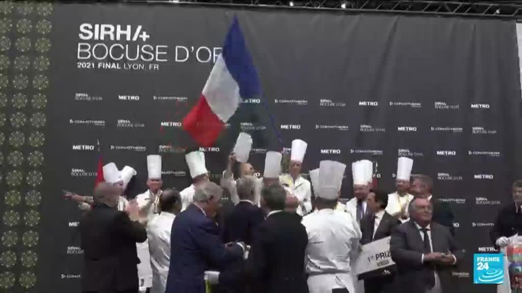 2021-09-28 10:12 Bocuse d'Or : la France championne du monde de la gastronomie