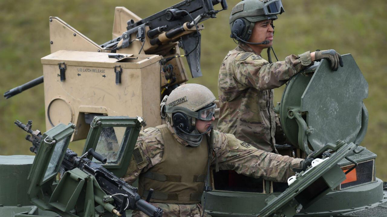 قوات أمريكية في ألمانيا