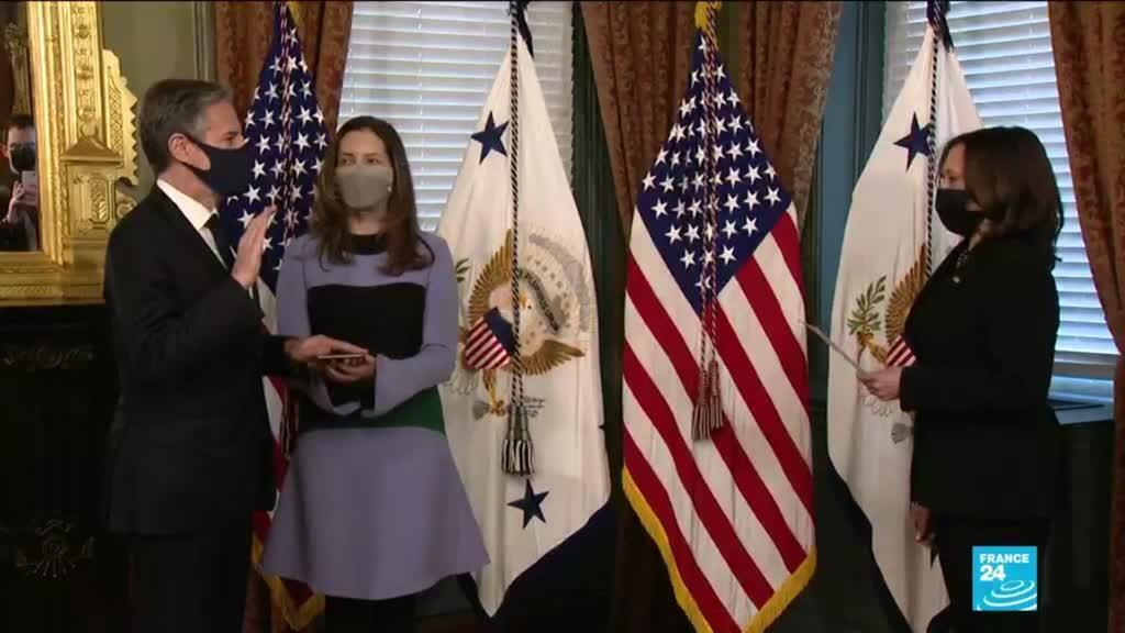 2021-01-28 07:16 États-Unis : l'administration de Joe Biden annonce remettre à plat sa politique au Moyen-Orient