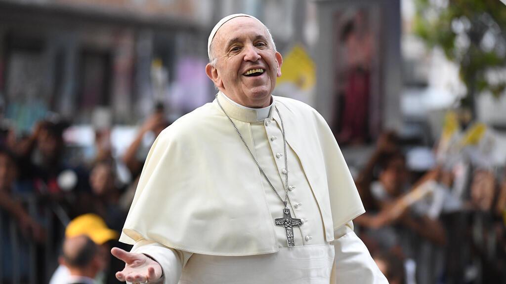 El papa Francisco en Santiago de Chile el 15 de enero de 2018.