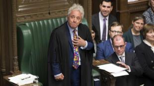 Le président de la Chambre des communes britannique, John Bercow, a annoncé sa démission lundi9septembre2019.