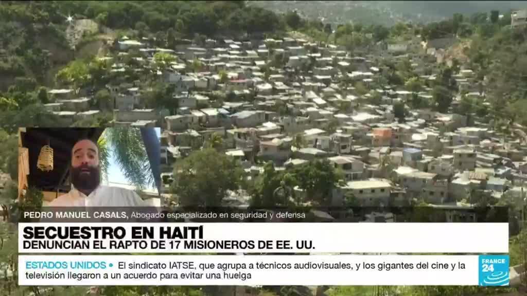 """2021-10-17 22:36 Pedro Manuel Casals: """"Misioneros en Haití fueron secuestrados de forma planificada"""""""