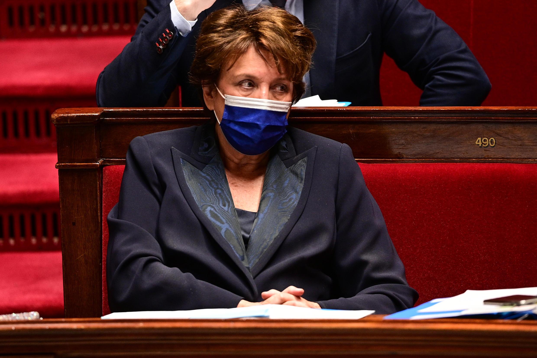 La ministre de la Culture Roselyne Bachelot, le 11 mai 2021 à Paris