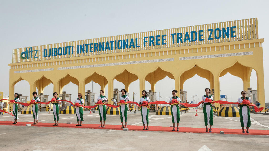La future plus grande zone franche d'Afrique a été inaugurée à Djibouti-ville, le jeudi 5 juillet 2018.