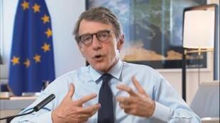 David Sassoli, président du Parlement européen