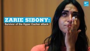 Hyper Cacher attack survivor Zarie Sibony.