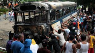 A pesar del paro nacional las calles de las ciudades nicaragüenses fueron nuevamente escenario de violencia y represión