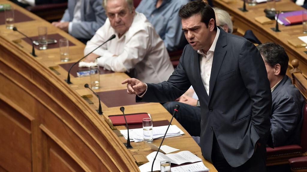 Le Premier ministre grec Alexis Tsipras