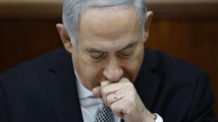 Le Premier ministre israélien Benjamin Netanyahou le 25 février 2018, à Jérusalem.