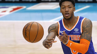 Elfrid Payton matched teammate Julius Randle with a club-best 22 points as the New York Knicks defeated Portland 110-99 in an NBA game Saturday