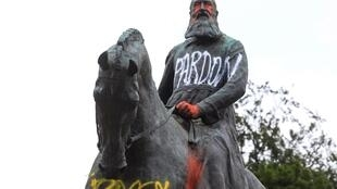 Several statues of King Leopold II of Belgium have been vandalised by protesters over his actions in the Congo
