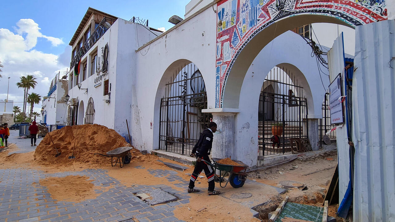 Libyan capital's neglected Old City gets facelift