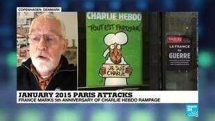 2020-01-07 18:20 France marks 5th anniversary of the Charlie Hebdo shooting