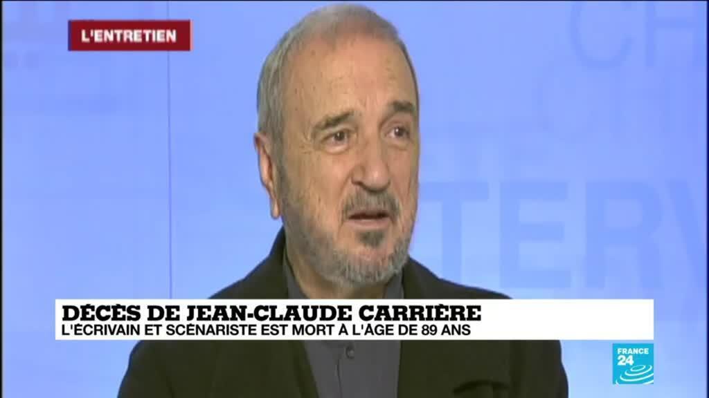 2021-02-09 10:13 Décès de Jean-Claude Carrière : l'écrivain et scénariste est mort à l'âge de 89 ans