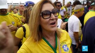En sus sondeos, Ibope encontró que solo el 31% de los ciudadanos aprueba la gestión del presidente Bolsonaro, mientras que el 34% la considera pésima.