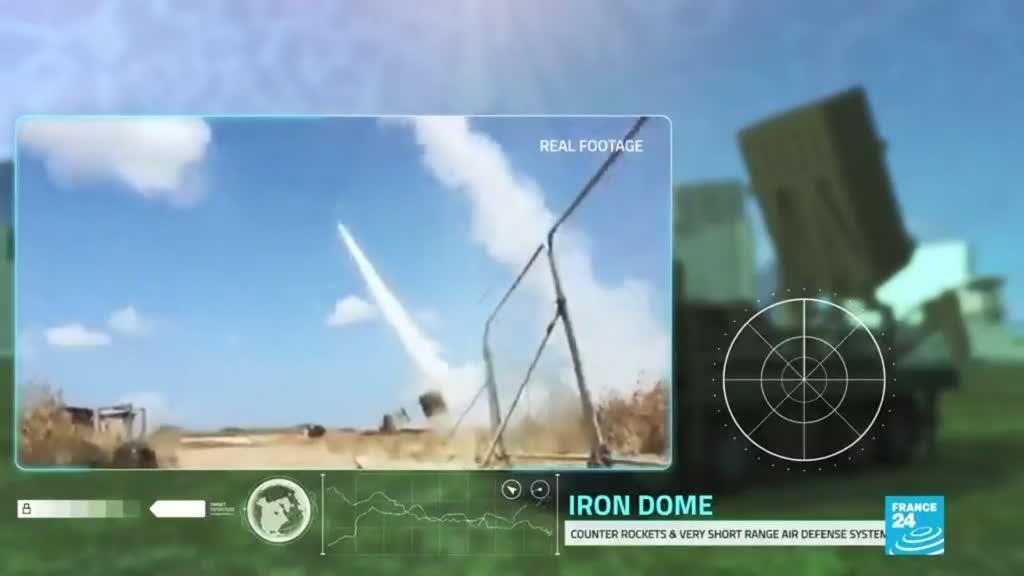 2021-05-12 14:33 Cúpula de Hierro, la defensa israelí contra los misiles de Hamas