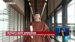 2019-10-22 06:32 FRANCE 24's Yuka Royer explains Japan emperor's enthronement in ritual-bound ceremony