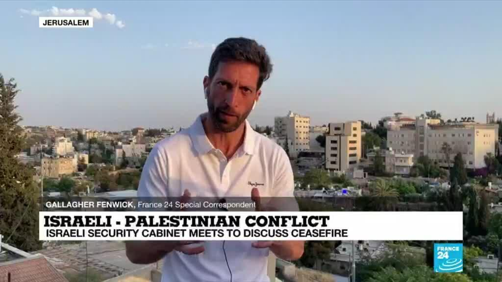 2021-05-20 18:01 Israel-Gaza conflict: Israeli security cabinet meets to discuss ceasefire