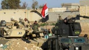 موقع للجيش العراقي في الرمادي
