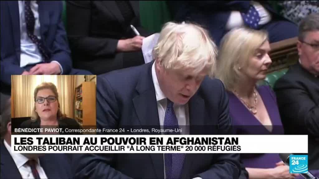 2021-08-18 14:04 Afghanistan : Londres pourrait accueillir à long terme 20 000 réfugiés