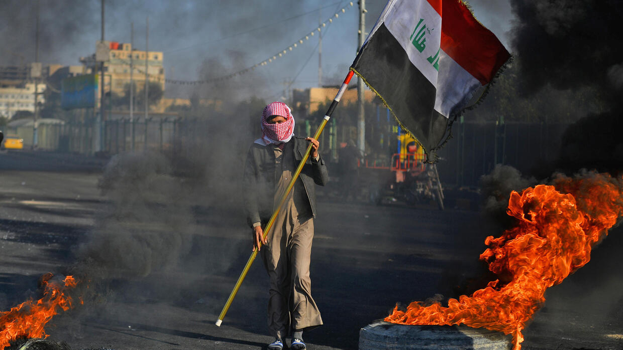 Iraqi Protesters Ramp Up Pressure As Deadline Expires