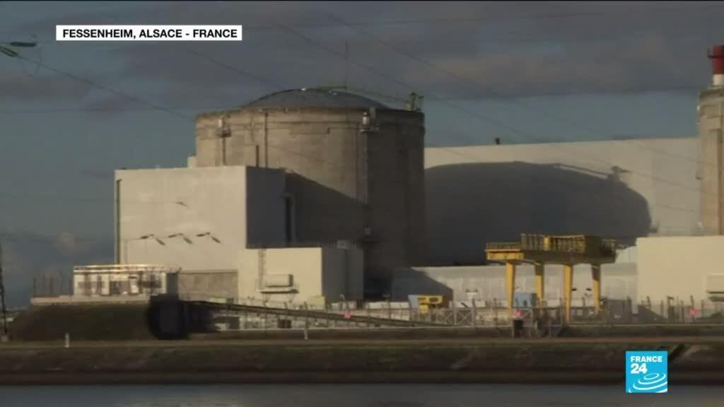 2020-02-19 12:11 Fessenheim, la plus vielle centrale nucléaire de France ferme ses portes