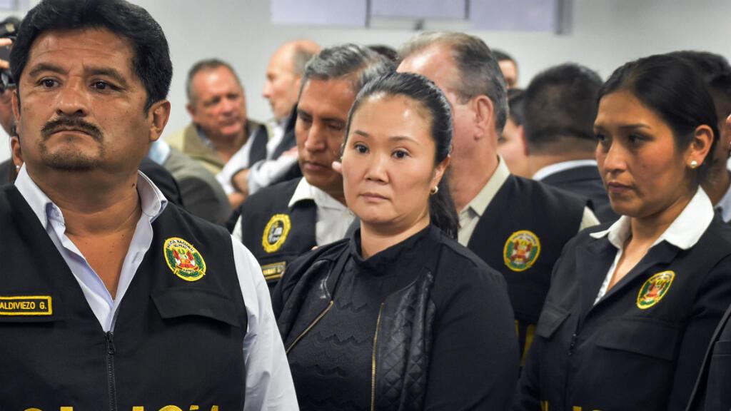 Keiko Fujimori, le 31 octobre 2018, à la cour de Lima.