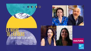 Imagen oficial de 'La Noche de las Ideas 2021'. Una edición global en streaming, con algunas presentaciones in situ.