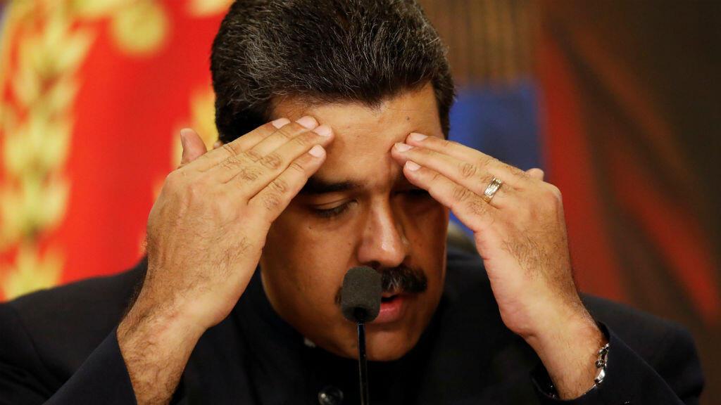 """El presidente venezolano, Nicolás Maduro, calificó de """"estúpidas"""" las sanciones impuestas por la Unión Europea."""
