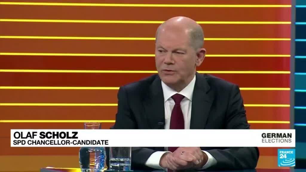 2021-09-24 08:04 German candidates clash in last TV debate before vote
