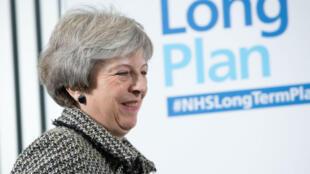 """Theresa May et son """"plan B"""" sont attendus lundi 21 janvier au Parlement de Westminster."""
