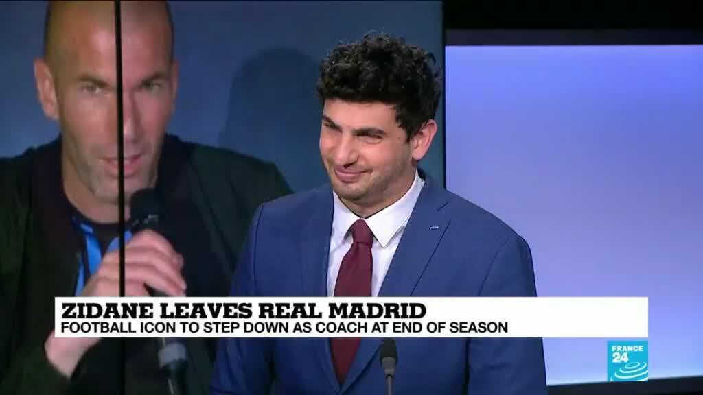 2021-05-27 17:11 Zinedine Zidane steps down as coach of Real Madrid at end of season