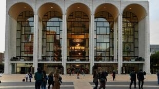 The Metropolitan Opera House, Lincoln Center, in New York, before it canceled the remainder of the 2019–20 season due to the coronavirus pandemic.