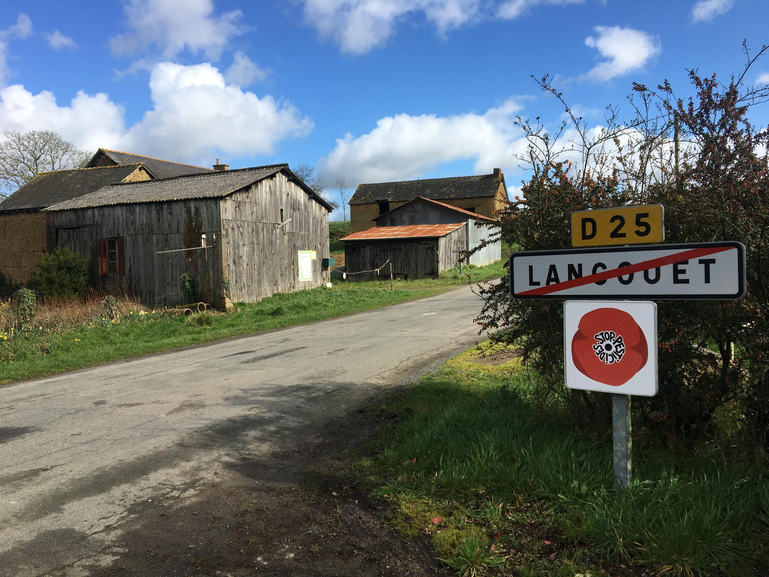 Critics say Langouët's ban on pesticides has driven a wedge between farmers in the village.