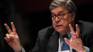 US Attorney General William Barr appears before the House Judiciary Committee on Capitol Hill, Washington DC, July 28, 2020.