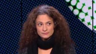 الممثلة السورية مي سكاف. كانون الأول/ديسمبر 2015.