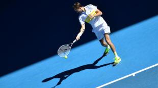 Russia's Daniil Medvedev swept into the Australian Open second round