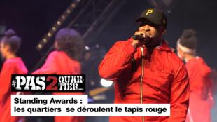 Standing Awards : les quartiers se déroulent le tapis rouge