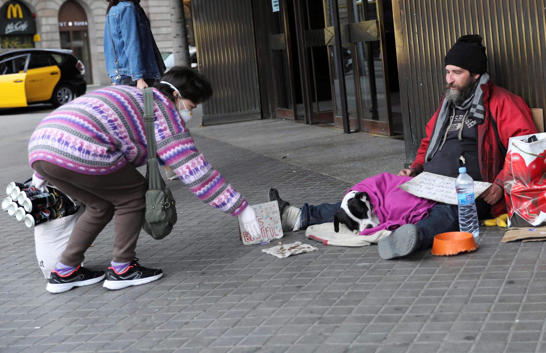 Sans domicile Espagne