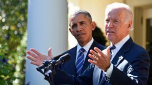 Le vice-président américain, Joe Biden, annonce qu'il ne se présentera pas aux primaires démocrates pour l'élection présidentielle 2016.